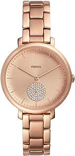 Fossil - Reloj de cuarzo para mujer de acero inoxidable con correa de jacqueline