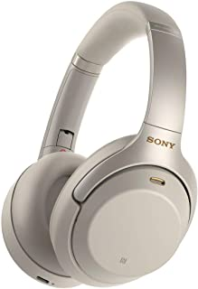 SONY WH-1000XM3 Wireless Noise Cancellation Headphones, Silver