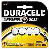 Duracell Batería médica de litio, 3 V, CR2032, 4 unidades