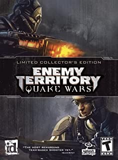 Enemy Territory: Quake Wars Limited Collectors Edition - PC