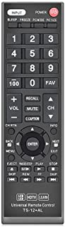Gvirtue Universal Remote Control Compatible Replacement for Toshiba TV/HDTV/LCD/LED, CT-90325 CT-90326 CT-90329 CT-8037 C...