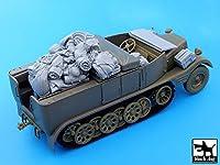 ブラックドッグ T35052 1/35 ドイツ Sd.Kfz11ハーフトラック アクセサリーセット