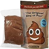 The Original Bag of Poo, Poop Emoji (Brown Cotton Candy) for Novelty Poop Gag Gifts