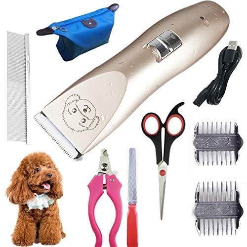JOOFFF USB Perros Gatos y Mascotas de Maquinas Cortar,Eléctrico Perros Gatos y...