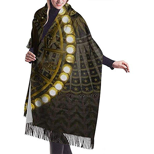 Cathycathy Globe plafondlamp sjaal wrap warm scarf cape grote sjaal