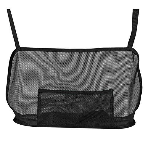 Kshzmoto Car Net Pocket Handtaschenhalter Autositz Aufbewahrungstasche Große Kapazität Tasche für Geldbörse Aufbewahrungstelefon