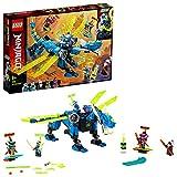 LEGO Ninjago - Ciberdragón de Jay, Set de Construcción con Minifiguras de Jay, Nya y Unagami, Juguete Inspirado en Prime Empire (71711)