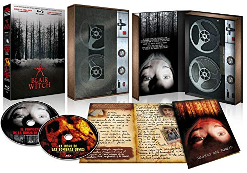 Blair Witch Project 1 y 2 BLU RAY VHS Retro-Pack (2 BDs) + Diario [Blu-ray]