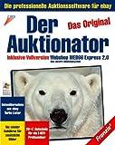 """Der Auktionator 2.0, CD-ROM Das Original. Die professionelle Auktionssoftware für eBay. Inkl. """"Webshop Web66 Express 2.0"""". Für Windows 95/98/2000/NT/Me/XP -"""