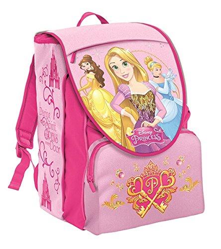 Seven Disney Princess 2B9001604-327 Zaino Sdoppiabile, Estensibile, 28 litri, Poliestere, Rosa