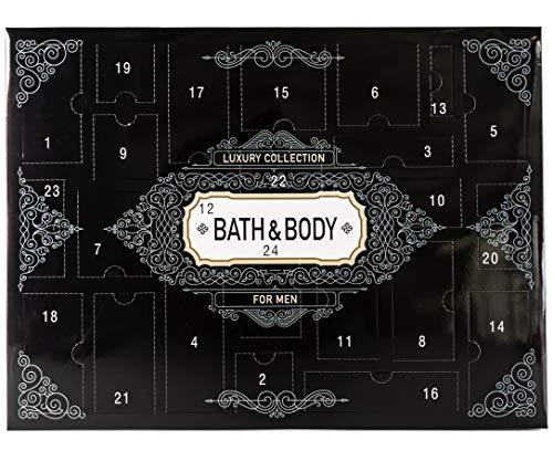 Adventskalender LUXURY COLLECTION Kosmetik für Herren - Männer Weihnachtskalender mit 24 Überraschungen