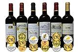ALL金賞受賞(ダブル金賞入 トリプル金賞入) 赤ワイン6本セット フランス ボルドー産 ソムリエ厳選 750ml×6本