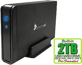 HornetTek Viper 2TB (2000GB) 7200RPM 64MB Cache USB 3.0 External Gaming Hard Drive for Xbox One