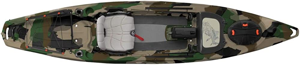 Feelfree Lure 13.5 Kayak with Overdrive Pedal Drive