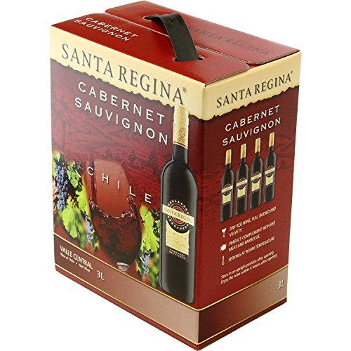 サンタ・レジーナカベルネソーヴィニヨン箱入りワイン(バッグインボックス)[赤ワインフルボディチリ3000ml]