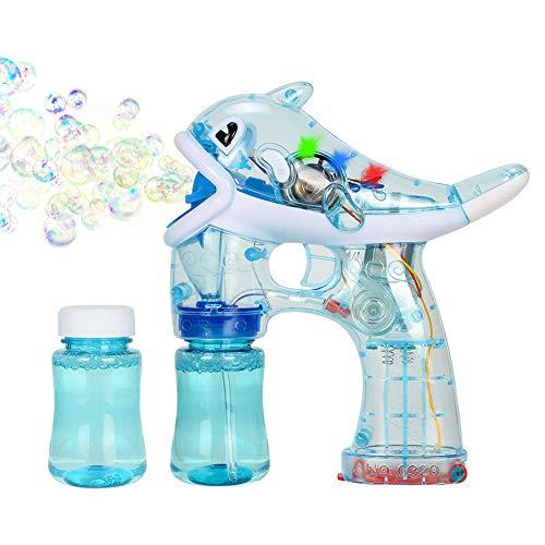 Xpizo La Pistola Burbujas eléctrica Dolphin Style