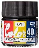 GSIクレオス Mr.カラー 40th Anniversary グラファイトブラック 10ml 模型用塗料 AVC01