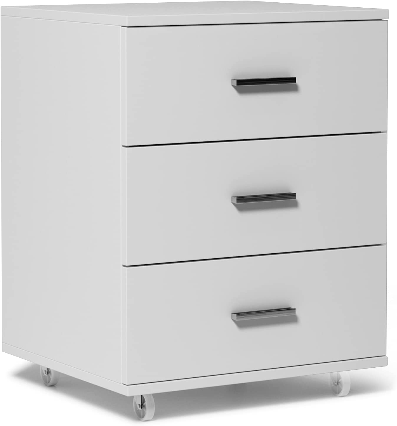Selling and selling Soges 3 Drawer Mobile File Genuine Free Shipping Modern Cabinet Wood Filing Ro