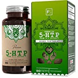 FS 5-HTP Tablets High Strength 400mg Capsules | 180 High Strength 5 HTP Vegan Capsules - 6 Months Supply | 5HTP Griffonia Seed Extract | Nootropic Supplement | Manufactured in ISO Licenced Facilities