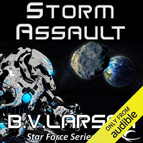 Storm Assault audiobook cover art