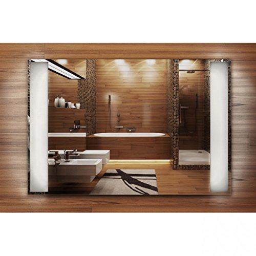 Infrarotheizung Spiegel – Heizung rahmenlos mit eingebautem LED – Licht 400 Watt – Bild 3*