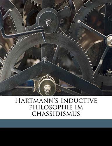 Hartmann's Inductive Philosophie Im Chassidismus