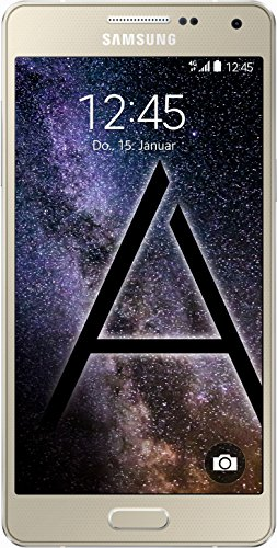 Samsung Galaxy A3 Smartphone (4,5 Zoll (11,4 cm) Touch-Bildschirm, 16 GB Speicher, Android 4.4) champagne-gold