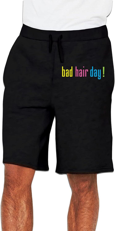Bad Hair Day Men's Flat Front Cheap bargain Boston Mall Sport Quick Running Shorts