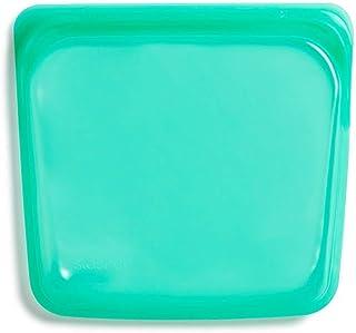 Stasher, bolsa reutilizable, color jade