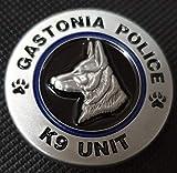 Gastonia Police K9 Unit Custom Challenge Coin