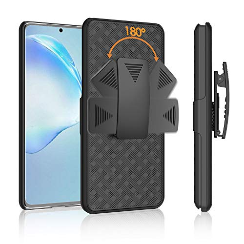 Cbus Wireless Case with Holster Belt Clip for Samsung Galaxy S20 Plus, S20+