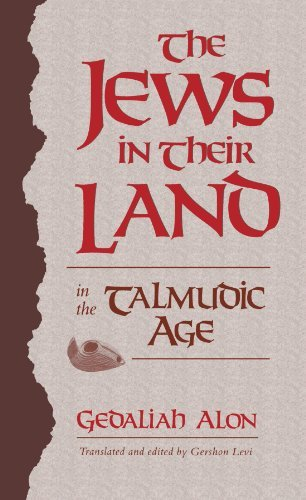 The Jews in Their Land in the Talmudic Age (70-640 C.E.) by Gedaliah Alon (1989-05-01)