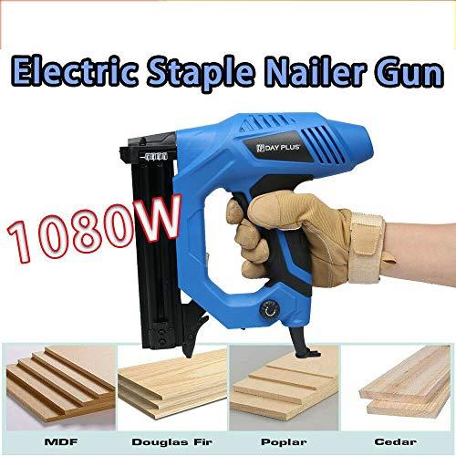 Cordled Electric Stapler Nailer Tacker New Straight Nail Gun 15-25mm 220V...