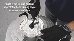 300mm Acrylic PVC Plastic Strip Heater Bender Bending Machine 300W Manual Hot Heating Bender Tool 0.04-0.24 Thickness 110V TFCFL 12