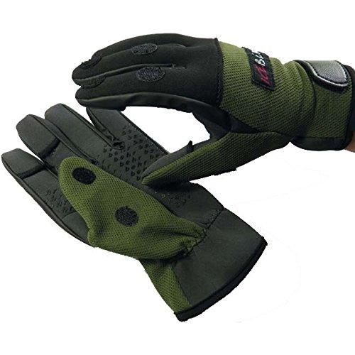 Behr - Angelhandschuhe in grün, Größe L