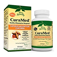 Up to 700% Better Absorption; CuraMed is made with the most clinically studied, enhanced absorption curcumin in the world (BCM-95/Curcugreen); It is up to 500x more powerful than turmeric! Over 50 Published Studies; This patented, enhanced absorption...