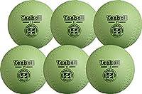 ナガセケンコー 日本ティーボール協会公認ボール JTAケンコーティーボール11インチ 6個 JTA-KT11