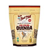 Bob's Red Mill Resealable Organic Tri-Color Quinoa, 13 Ounce (Pack of 6)
