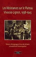 Les Résistances sur le Plateau Vivarais-Lignon (1938-1945) : Témoins, témoignages et lieux de mémoires. Les oubliés de l'histoire parlent