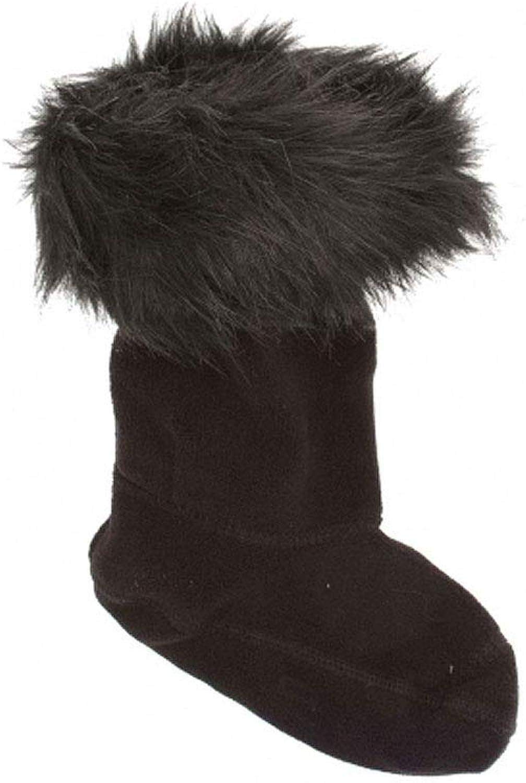 Hunter Original Tall Faux Faux Faux Fur Cuff Stiefel Socks schwarz B07HG9L37K  Neues Design e6118a