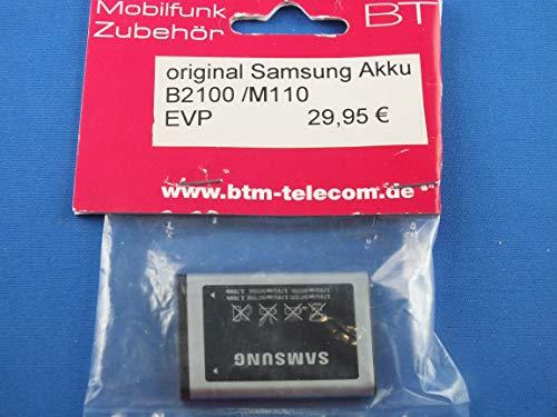 ORIGINAL Akku accu Batterie battery für Samsung GT-B2100, B2100 Solid, B2100 Xplorer, GT-C5212, GT-E1110, GT-E1130, GT-E2120 - Li-Ionen - (AB553446BU)