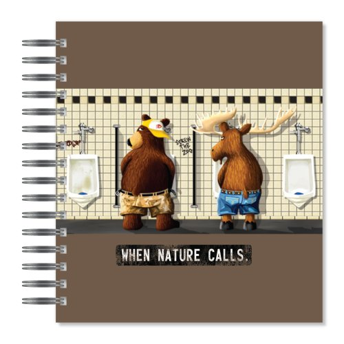 ECOeverywhere Nature Calls Picture Photo Album, 18 Pages, Holds 72 Photos, 7.75 x 8.75 Inches, Multicolored (PA11105)