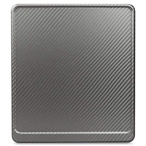 Kennzeichenverstärker Motorrad Kennzeichenhalter Carbon Aluminium 180x200 inkl. BEFESTIGUNGSSCHRAUBEN, Neu