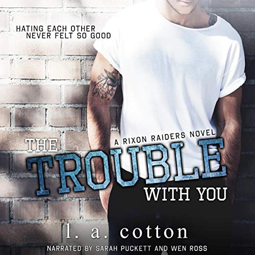 The Trouble with You audiobook cover art