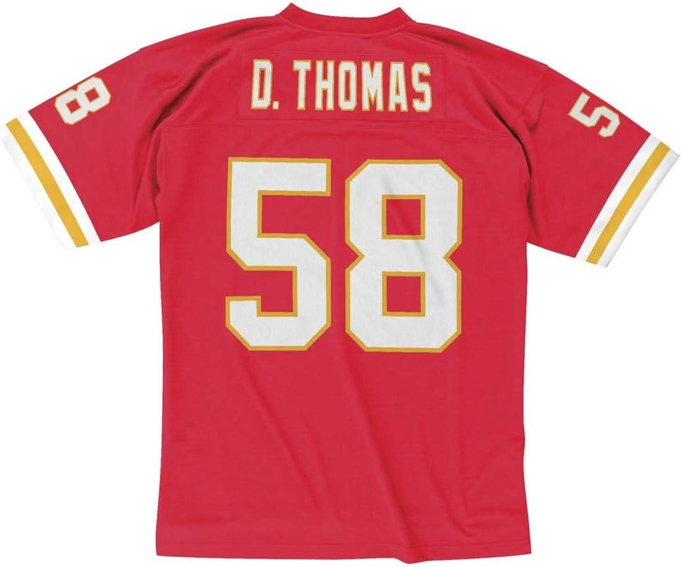 Mitchell & Ness Kansas City Chiefs Derrick Thomas Throwback Replica Jersey
