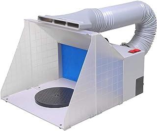 Ausuc スプレーブース スプレーワーク 塗装ブース エアーブラシシステム ペインティングブース エアーブラシ用 プラモデル・模型の塗装作業に