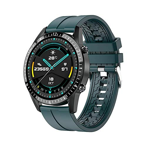 I9 Smart Watch,GPS Waterproof Screen Fitness Watch,with Heart Rate Monitor,Pedometer,Sleep Monitor,Silent Alarm Clock,Super Battery Life,Slim Smart Bracelet