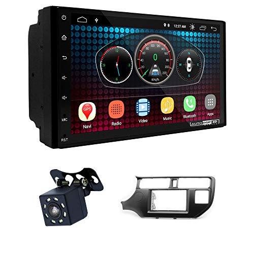 UGAR EX6 7 pollici Android 6.0 DSP Navigazione GPS per Autoradio + 11-291 Kit di Montaggio compatibile per KIA Rio (UB), K3, Pride 2011-2015 (Left Wheel)
