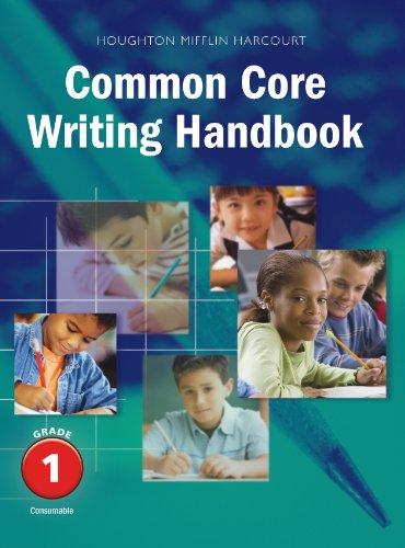 Writing Handbook Student Edition Grade 1 (Journeys)