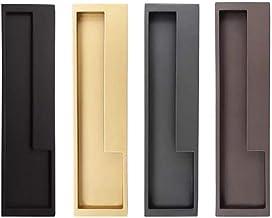 2-delige Barn Door Handle, Schuifdeur Handle 202 × 52 Mm / 7,95 X 2.05in, Ladehandvat En Handle Kastdeur Accessoires, Vele...